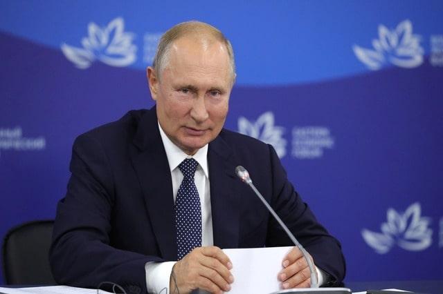 Путин на Восточном экономическом форуме