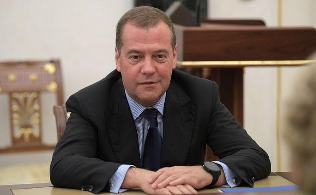 Дмитрий Медведев 26 октября 2019 года