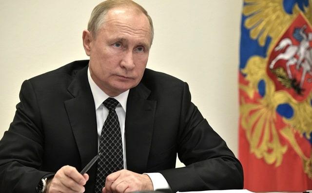 Владимир Путин 1 ноября 2019 года