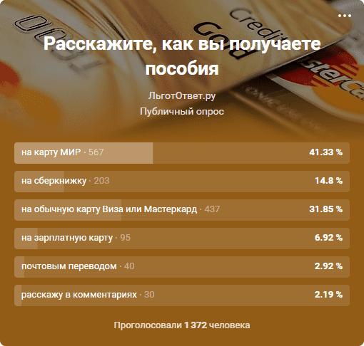 Как получают пособия в России