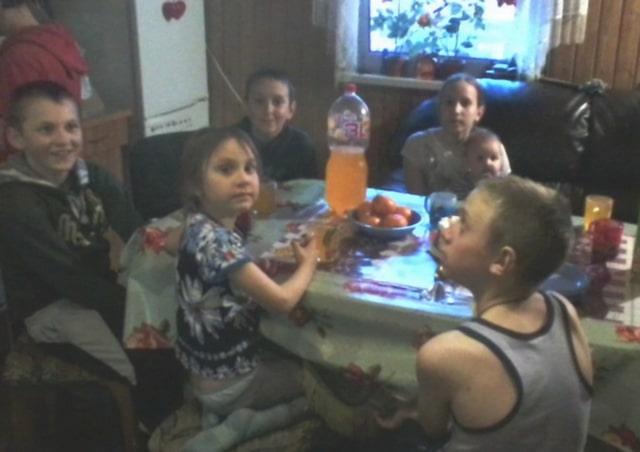 Многодетная семья Валерия Наумовича